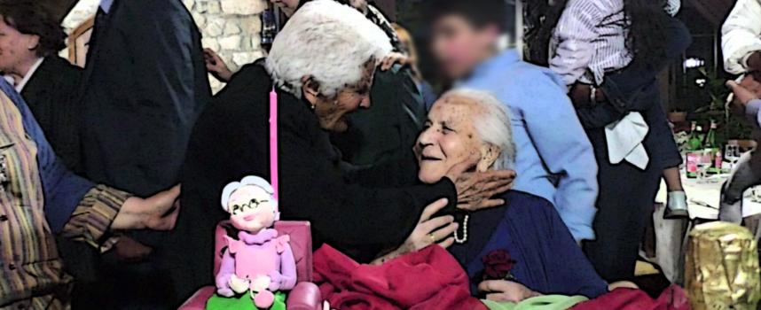 Falconara Albanese – Rosa compie cent'anni e il paese festeggia – VIDEO