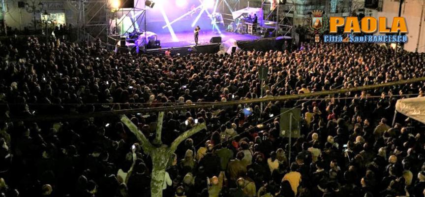 Paola – Gli organizzatori: «per Raf oltre 15mila persone in Piazza»