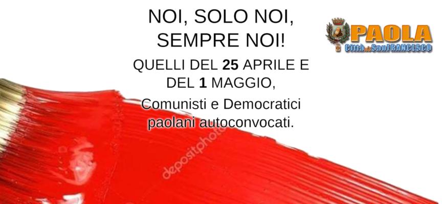 """Paola: Dal circolo """"25 Aprile e 1 Maggio"""" critiche a Ferrari su gestione coop"""