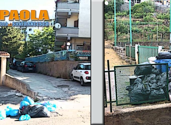 Paola – Asili e abitazioni col problema dei rifiuti all'ingresso (puzza e ritardi)