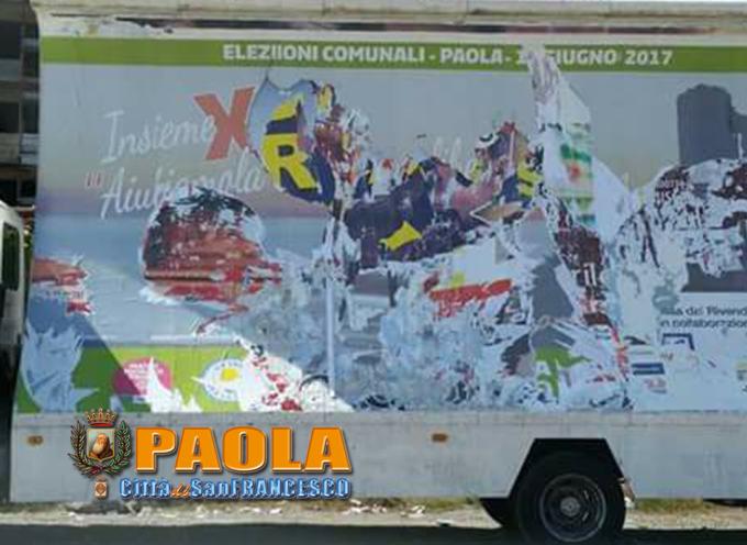 Paola – Prima dell'intimidazione a Grupillo, Perrottiani già vittime di vandali