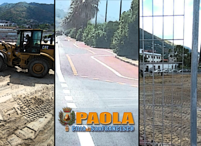 """Paola – """"Ecomostro"""" buon parcheggio. Pista tratteggiata di strisce – VIDEO"""