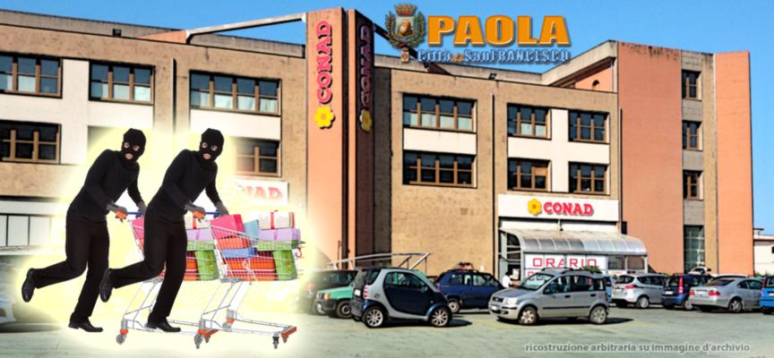 """Paola – Già in carcere le due """"taccheggiatrici"""" che hanno rubato alla Conad"""