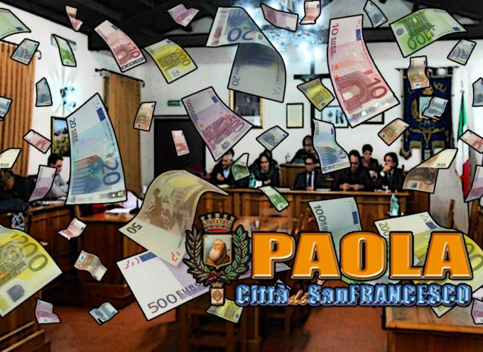 Paola: Liquidati altri gettoni all'ex consiglio, più stipendi giunta e presidente