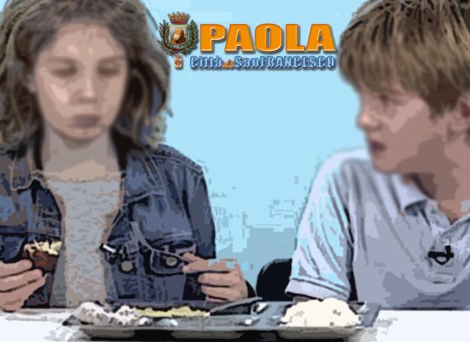 Paola – Liquidati i mesi della mensa poi sospesa per interdittiva antimafia