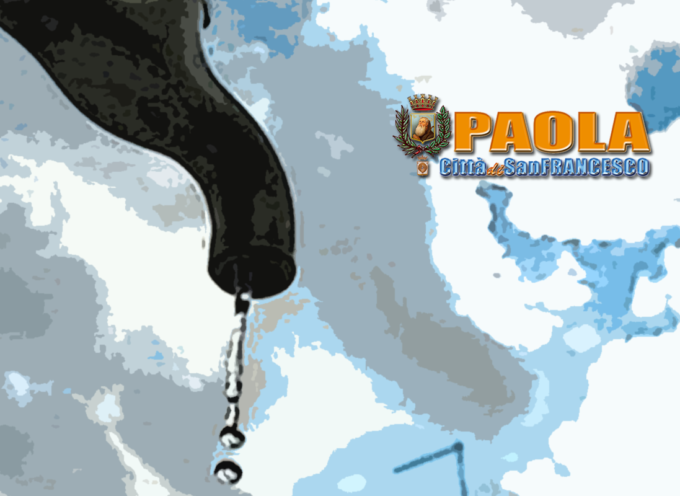 Paola – Intervento sulla rete idrica: dalle 14.30 sospeso il servizio – AVVISO