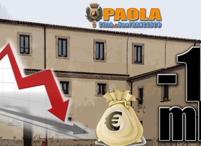 Paola – 7milioni (impegni da onorare) + 3milioni (debiti extra)= 2° Dissesto?