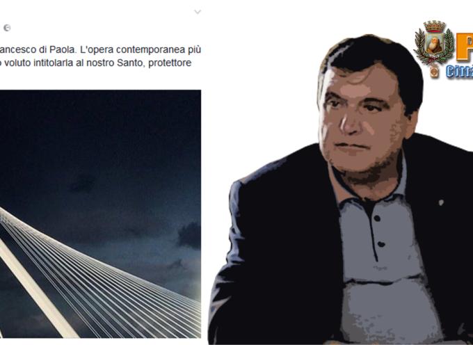 Paola – Perrotta ringrazia Occhiuto per il Ponte tributato a San Francesco