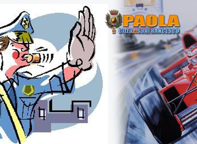 Paola – I Vigili sanzionano le violazioni ma le multe arrivano da San Marino