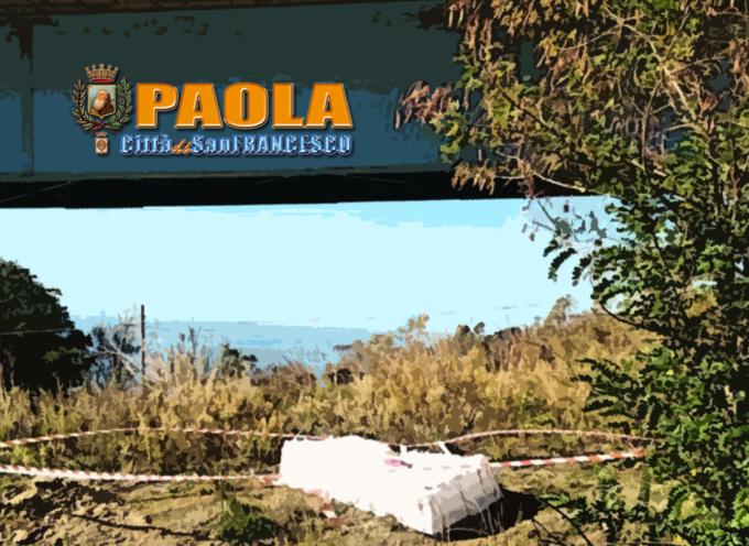 Paola – La periferia meridionale della città oggetto di bonifiche da Amianto