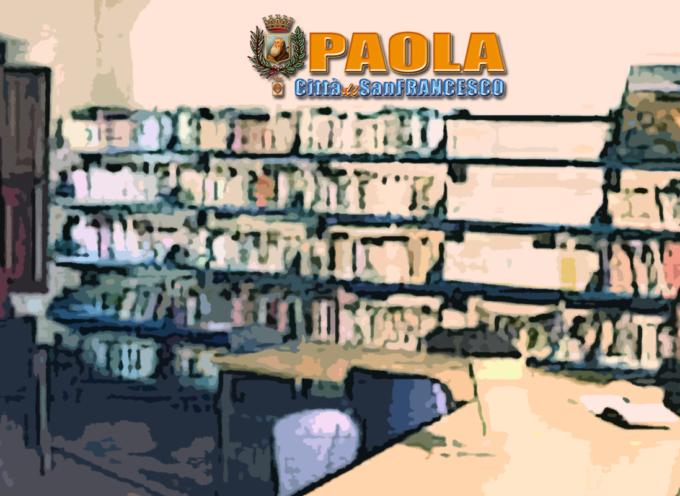 Paola – Nel nome di Romano Napolitano la biblioteca ha ricevuto nuovi libri