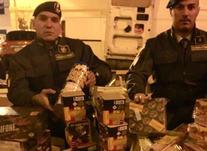 Quasi 700kg di botti illegali: GdF arresta una persona e sequestra la merce