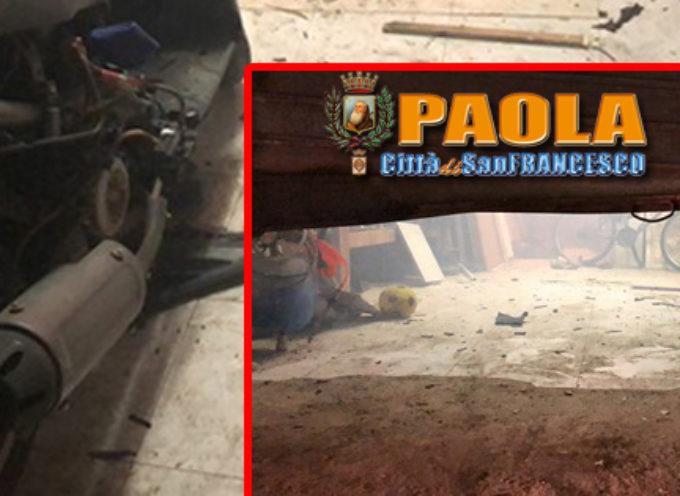 Paola – Il 2018 di alcuni cittadini è iniziato coi danni subiti per i botti – FOTO