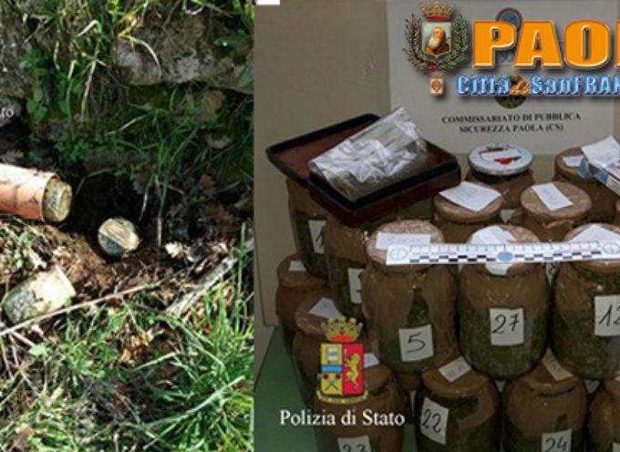Paola – Arrestato 62enne trovato in possesso di 2,7Kg di Marijuana