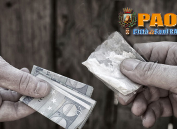 Paola – Arrestato un 22enne per spaccio, tra le droghe pure l'ecstasy