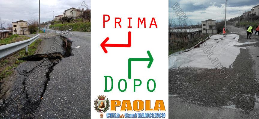 """Paola – Copertura """"anti infiltrazioni"""" a S.Miceli, presto senso unico alternato"""
