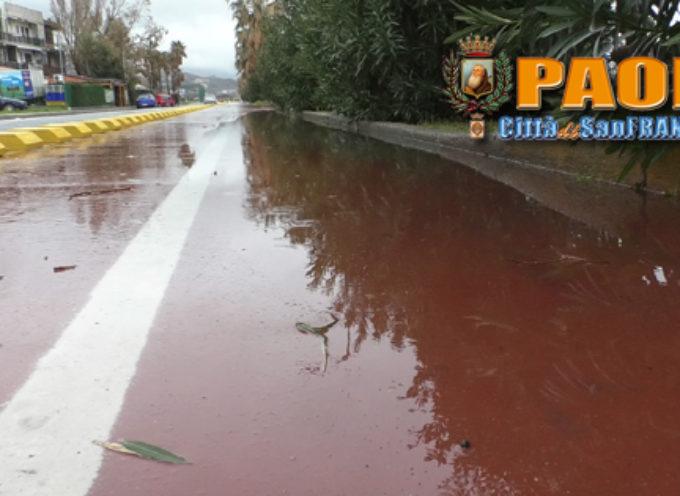 Paola – Piscina ciclabile, pista impraticabile. La pioggia non lava l'onta – VD
