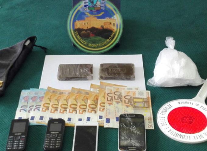Corrieri della Droga in azione nel cosentino: arrestati con 2 etti di hashish