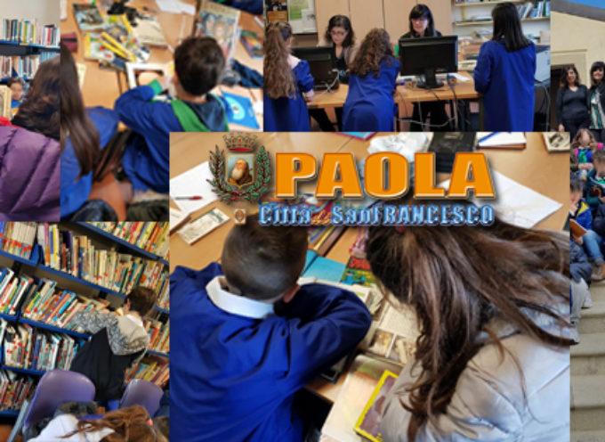 """Paola: Comune&Scuola """"insegnano"""" ai ragazzi il rapporto con la Biblioteca"""