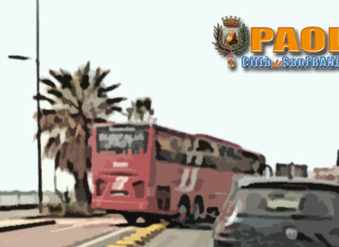 Paola – Pista ciclabile, disagi per i mezzi pesanti (e il 4 Maggio s'avvicina)