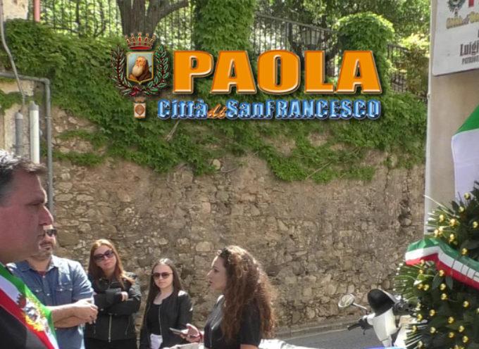 """Paola – VIDEO – Festa della Liberazione (pt.1): """"Largo Luigi Logatto"""""""
