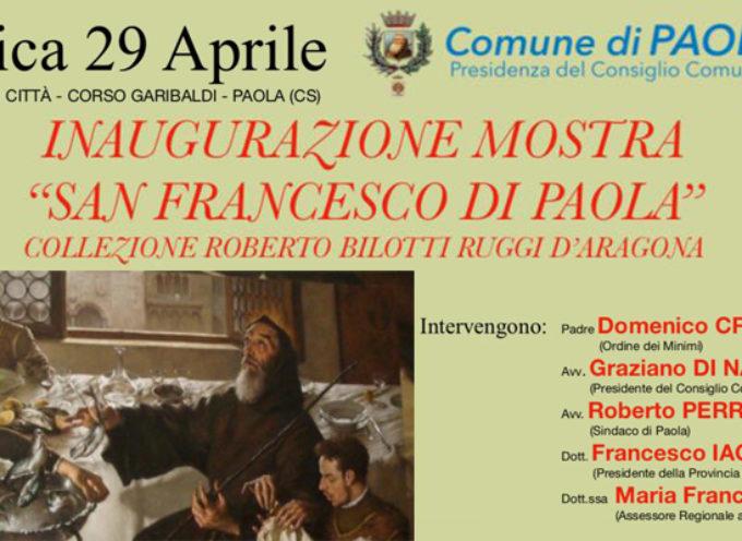 Paola – Domani inaugurazione Mostra: Collezione Bilotti dedicata al Santo