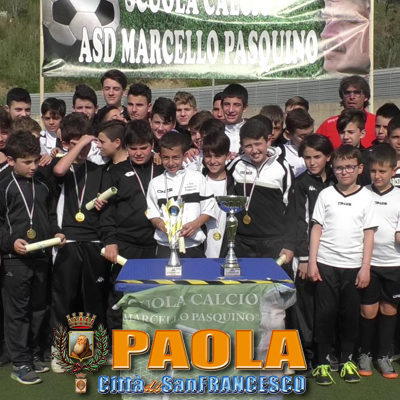"""Paola – Video – Vittoria a Coverciano: onore alla scuola """"Marcello Pasquino"""""""