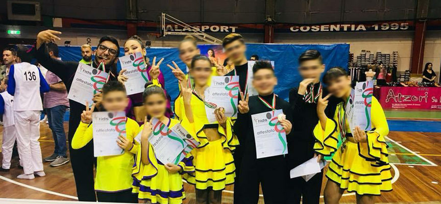 Guardia P – Gare FIDS Calabria: Magic Dance Accademy conquista il podio