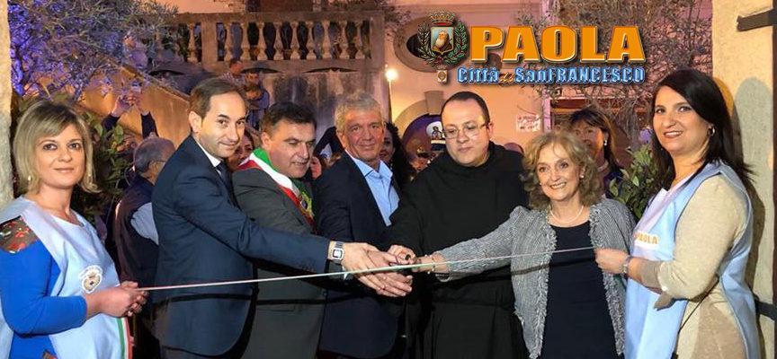 Paola – Alto gradimento per l'inaugurazione della mostra su San Francesco