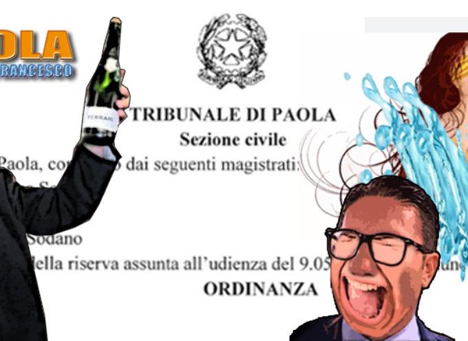 """Ordinanza """"pro Perrotta"""": doccia fredda a Ferrari&Co (devono pure pagare)"""
