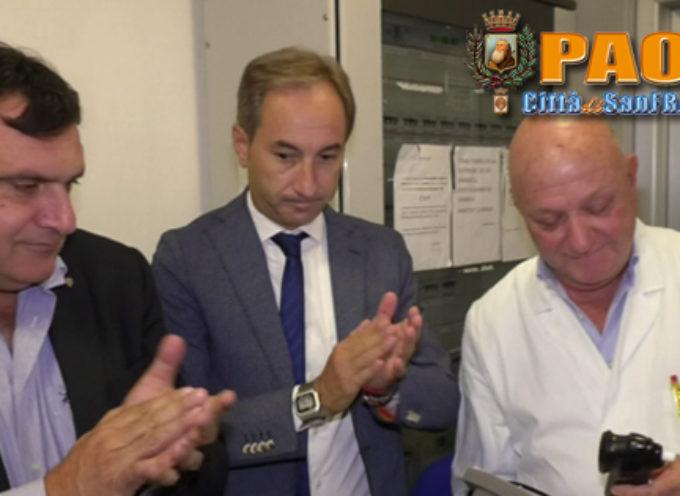 Paola |Video| Donato il Biotesiometro, ma che fine ha fatto il mammografo?
