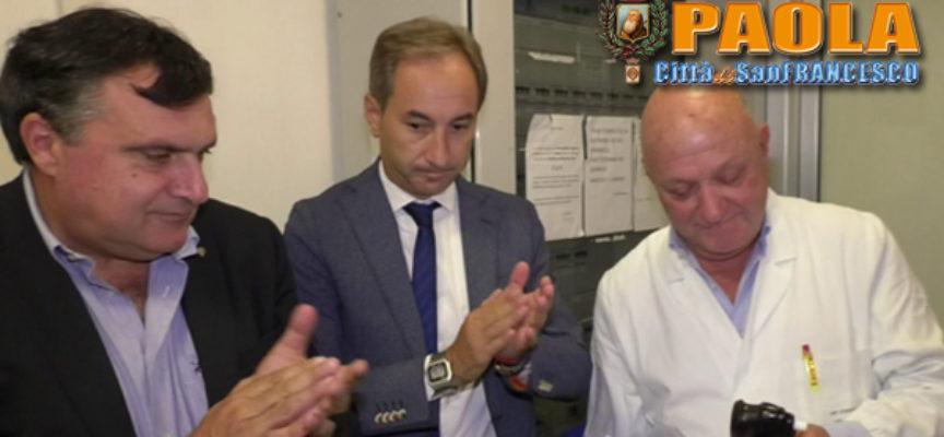 Paola – Ospedale, distretto sanitario e macchinari: il Comune incontra l'Asp