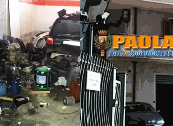 """Paola – Meccanico """"fantasma"""" preso dalla GdF: guai fiscali e inquinamento"""
