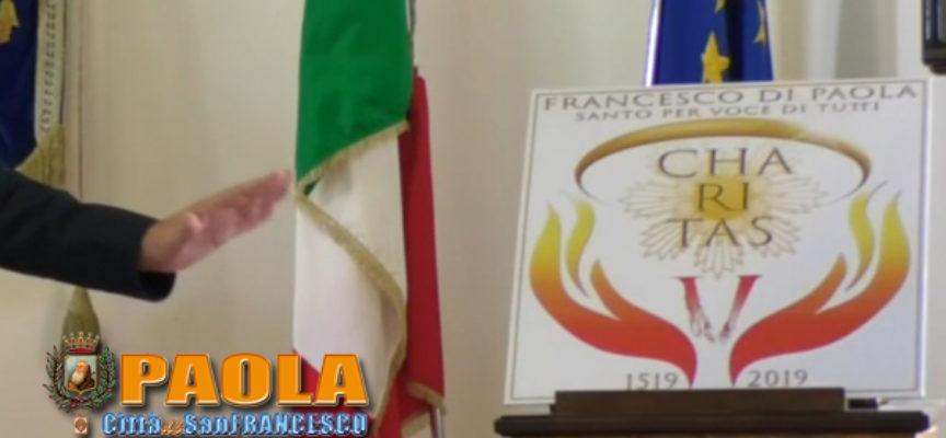 """Paola – VIDEO – Ecco il logo per il V Centenario di """"San"""" Francesco"""