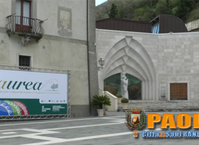 Paola |VIDEO| Via alla 7° edizione di Aurea al Santuario di San Francesco
