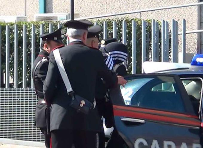 Paola: Domiciliari per l'arrestato nel centro storico. A Cetraro presi per armi