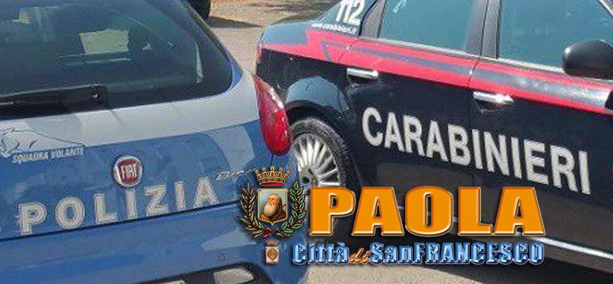 Paola – Arresto per spaccio nel centro storico, a S. Lucido preso ricettatore