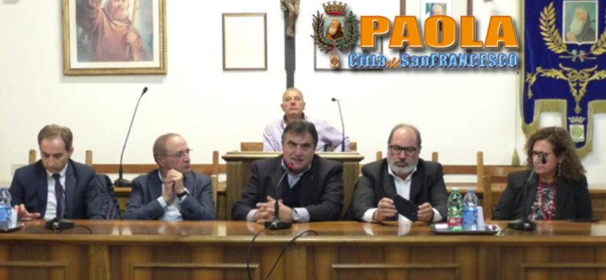 Paola – Video: Provincia, Comune e Asp all'unisono su locali per il Distretto