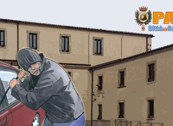 Paola – Intimidazione (?) contro lavoratori onesti: rubata auto a caposettore