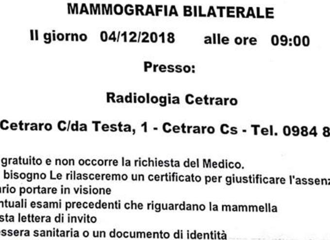 """Paola – L'Asp invita """"a visita"""" i defunti: ecco la mammografia post mortem"""