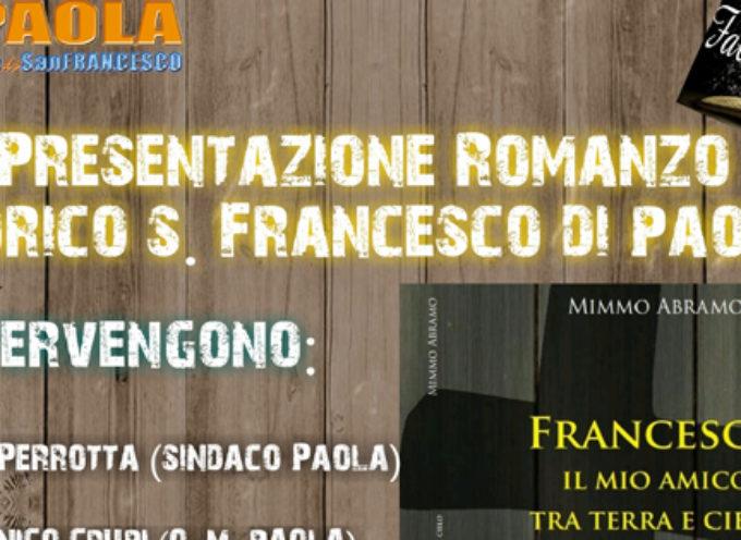"""Paola – """"Francesco, il mio Amico tra terra e cielo"""": opera di Mimmo Abramo"""