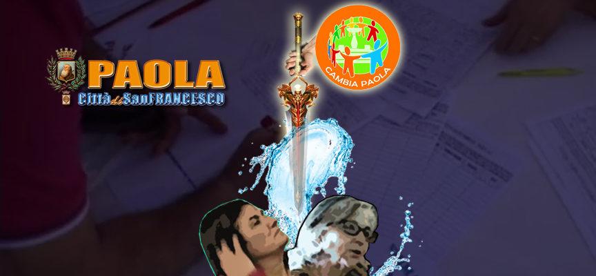 Paola – La spada nella goccia (che fa traboccare il vaso di Cambia Paola)