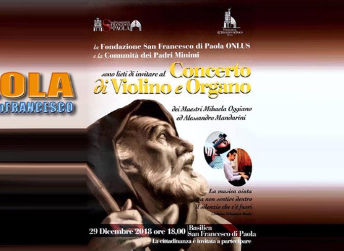 Paola – Due Maestri, due strumenti, per un concerto da non perdere