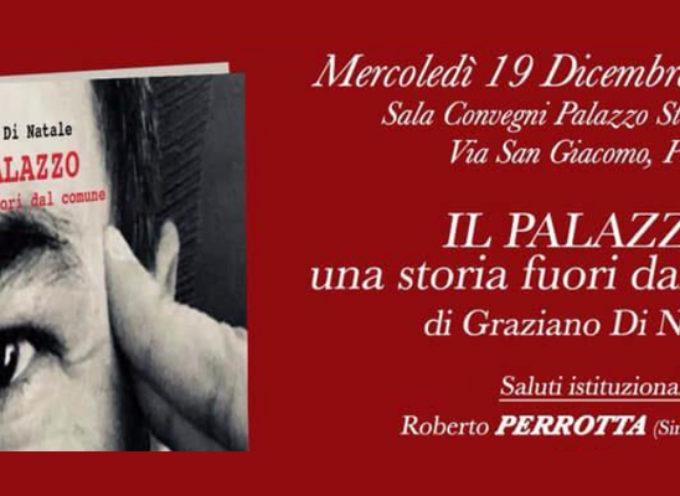 """Paola – """"Il Palazzo"""" per Graziano Di Natale, domani presentazione del libro"""