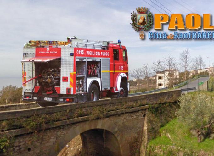 Paola – Incendio in una casa di San Salvatore, anziani salvati dai VVFF