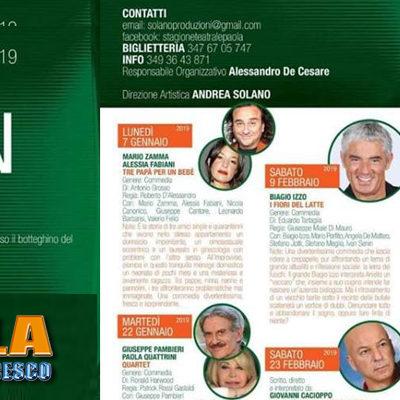 Paola – Ai nastri di partenza la nuova Stagione Teatrale: Odeon alla ribalta