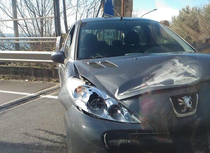 Paola – Foto – SS18: Brutto incidente nei pressi del Castello