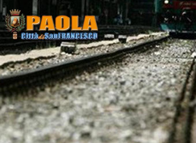 Paola – 32enne tenta di gettarsi sotto un treno: salvata dai Carabinieri