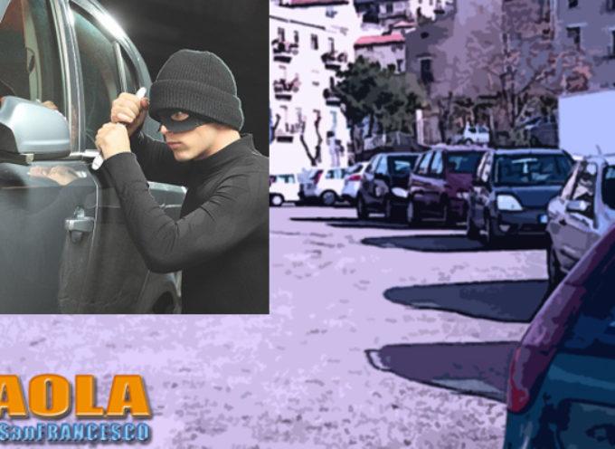 """Paola – Altre due macchine """"sgraffignate"""" in centro in pieno giorno"""