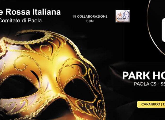 """Paola – """"Carnival Night"""", sensibilizzazione in maschera della Croce Rossa"""